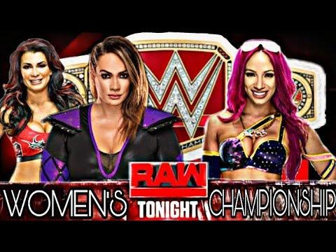 Xxx Mp4 WWE 2K18 Nia Jax Vs Sasha Banks For RAW WOMEN S CHAMPIONSHIP 3gp Sex