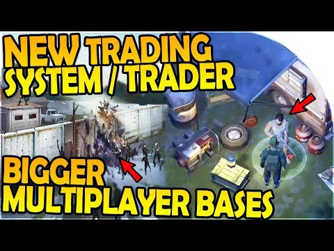 NEW TRADING, BIGGER MULTIPLAYER BASES, NEW BACKPACK INBOUND- Last Day On Earth Survival 1.5.9 Update