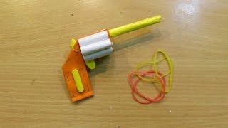 How to Make a Mini Pistol That Shoots - Easy paper pocket Gun Tutorials