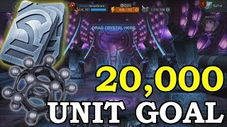 The 20k Unit Goal | Marvel Contest of Champions
