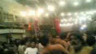 9 th Moharram 2009 In Sahiwal Noha Nana Kere Diya Si Anhuman Gulaman-e-abbas
