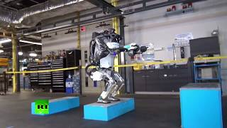 Nothing to see here - just a robot doing backflips