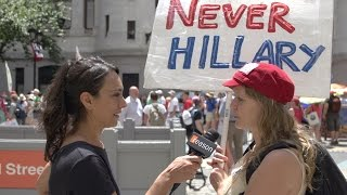 Bernie Supporters Furious at DNC Leaks, Vow #NeverHillary, Consider Third Party Vote