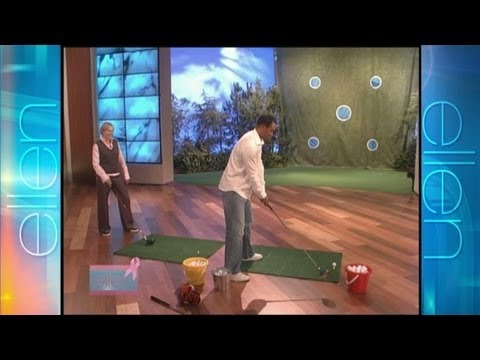 Memorable Moment Playing Golf with Tiger Woods