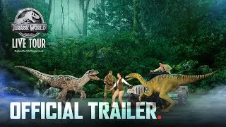 Jurassic World Live Tour – Official Trailer