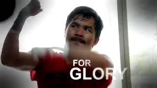 Manny Pacquiao Returns to the Ring   Champions Don't Quit   #TeamLegend