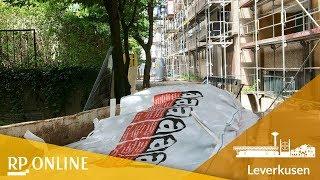 Asbestarbeiten in Leverkusen-Opladen: LEG entschuldigt sich bei Mietern