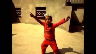 Punjabi Funny Video of a Kid Singing