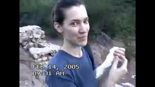 REAL ALIEN CAUGHT ON TAPE HIKING TRIP