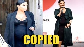 Hot Kareena Kapoor Pregnant Style COPIED From Kim Kardashian Pregnancy Style!
