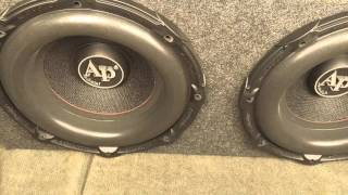 2 audiopipe txx bd1 12s