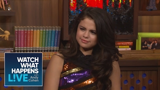 Selena Gomez Asks Andy Cohen How Many People He's Slept With | Host Talkative | WWHL