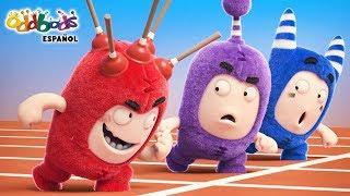 Oddbods - Carreritas | NUEVOS Episodios | El Show de Oddbods | Caricaturas Graciosas Para Niños
