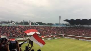 Lagu Indonesia Raya & Goal zulham Zamrun    Indonesia Vs Vietnam