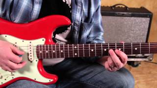 Blues Guitar Lessons - Blues Phrasing with Scales and Arpeggios