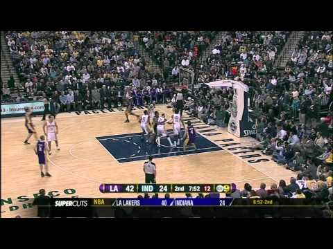 #26 at Indiana Pacers - Pau Gasol Video Project 2011