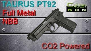 [AIRSOFT] Review N°93 - Taurus PT92 NBB - Full Metal - CO2 Powered (CYBERGUN)