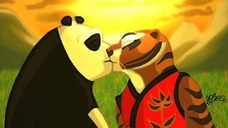 kung fu panda tigresa y po te amo