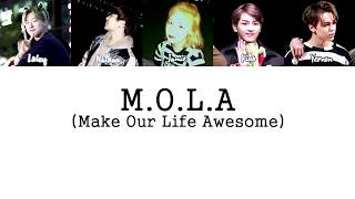 M.O.L.A - Chillin' (Remix) (Extended Ver.) LYRICS [HAN|ROM|ENG]