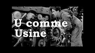 Charlie Chaplin - U comme Usine