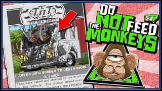 Nudist Truckers Burned Alive (Last Ending) - Do Not Feed The Monkeys Gameplay