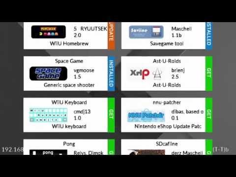 Wii U Homebrew - App Store