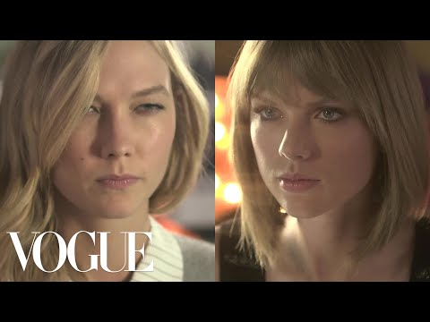 Taylor Swift and Karlie Kloss Take a Friendship Test   Vogue