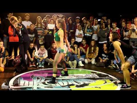 Julia Soboleva vs Anna Kovtun   Dancehall Semifinal   SOUL CITY 2012