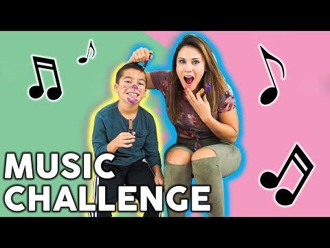Andrea Espada Vs Son Music Challenge! PART 2!!