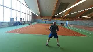 142 ROSENHOF darek CUP. Main Q/A.BIAŁONOGA vs B.ROGOWSKI 7/6(2)