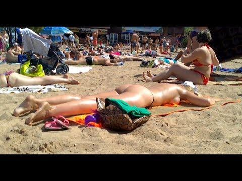 Podrezovo Beach. Moscow region. Pirogovo 20.07.14.