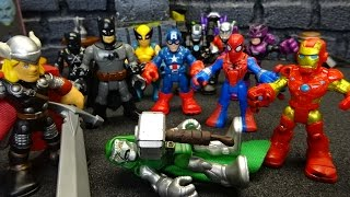Marvel Avengers Imaginext The Power of Doom Part 4 Stop Motion