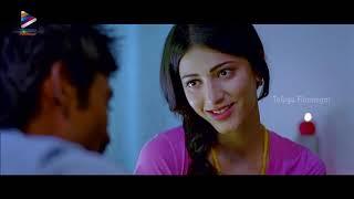 Shruti Haasan & Dhanush First Night Scene | 3 Telugu Movie | Anirudh | Aishwarya | Telugu FilmNagar