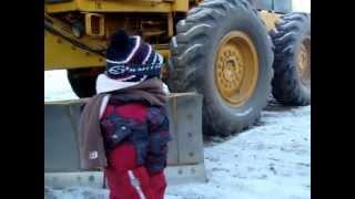 Braving the Alaskan cold