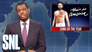 Weekend Update: This Is America Wins Song of the Year - SNL