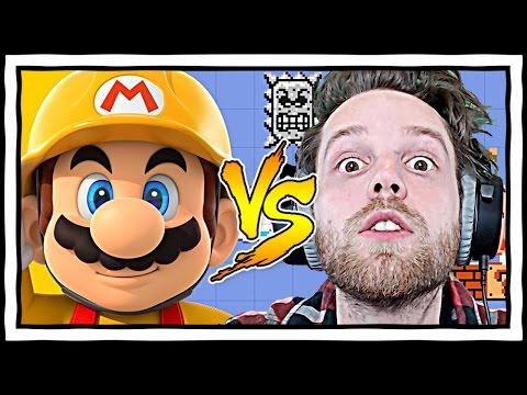 YuB got Mario Maker!! Super Mario Maker Wii U Gameplay