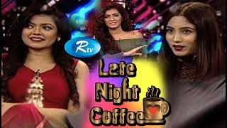 Late Night Coffee | Nabila | Safa Kabir | Maria Nur | Rtv