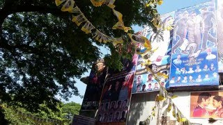 Mumbai Suriya Fans Celebration 24 Movie In Aurora Theater