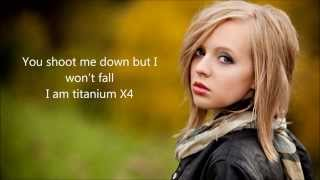 Titanium - David Guetta feat Sia by Madilyn Bailey Lyrics