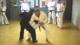 Tom Hill's Karate Dojo; Goju Kata Bunkai; Seiyunchin; Various techniques