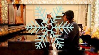 Christmas Medley (piano and violin) - Natalia Wierzbicka and Christian R. Leovido