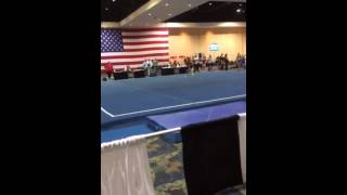 Lauryn Bello Floor Eercise FL State 2014