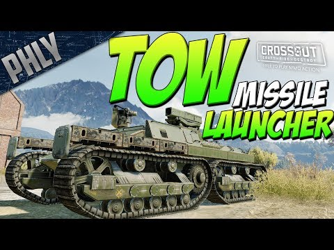CLARINET TOW Missile Launcher & RakjPz 2 HOT Build (Crossout Gameplay)