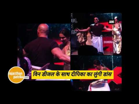 Xxx Mp4 Deepika S Lungi Dance With Her XXx Co Star Vin Diesel 3gp Sex