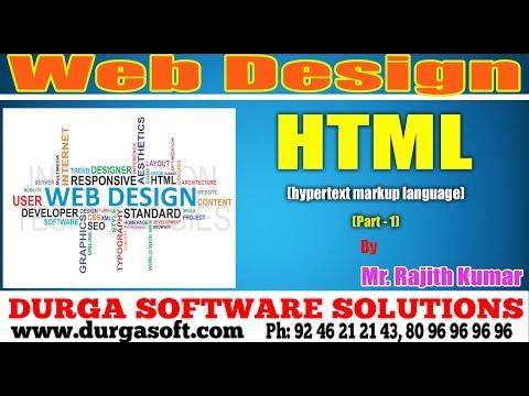 Web Design | Html (Hypetext markup Language) Part - 1 by Ranjit Kumar