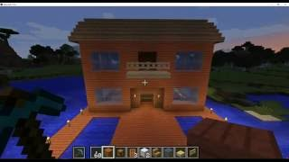 MINECRAFT great house, great view