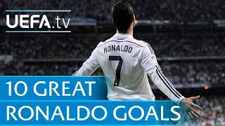 2014 FIFA Ballon d'Or winner! 10 great Ronaldo goals