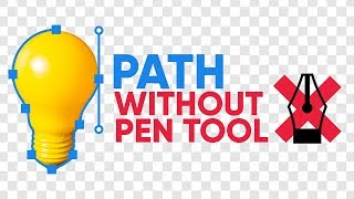 Hate Using the Pen Tool? Make it Automatic! - Photoshop Tutorial