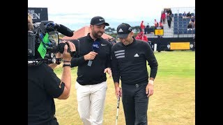 """""""It's a different kind of Carnoustie"""" Sergio Garcia at The Open"""