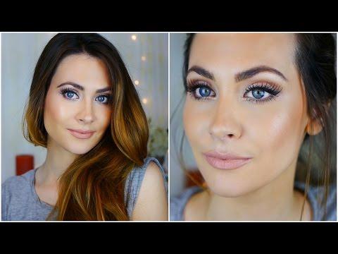 Maquillaje Natural y Luminoso. Natural & Glow Makeup Tutorial | Lizy P